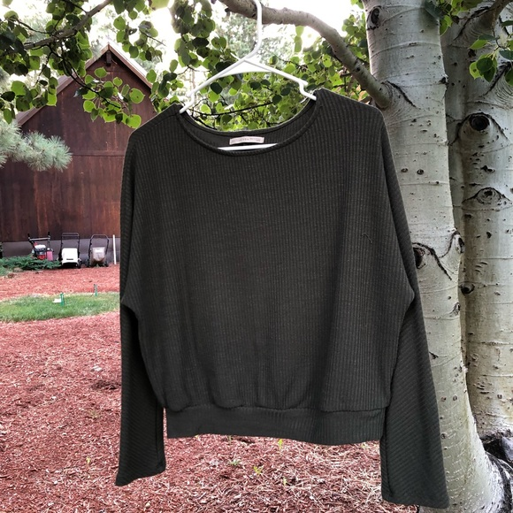 Active USA Sweaters - Olive Green Sweater